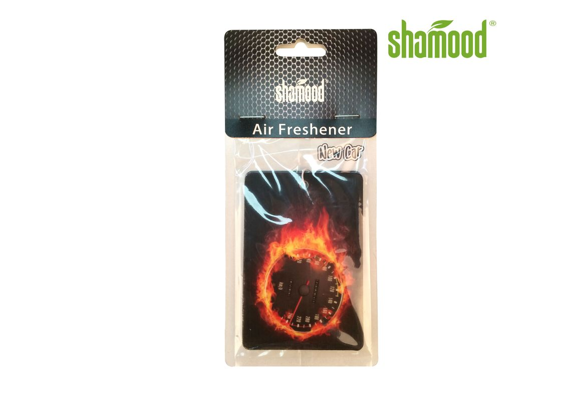 Burning Passion Essential Oil Air Freshener For Vehicles  Scented Paper Card